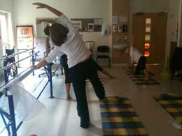 Pilates Group Work