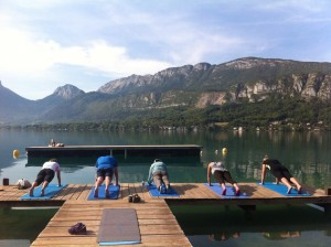 Planks in the alps 2014